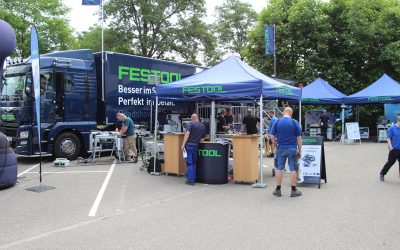 Festool Roadshow bei ASAL