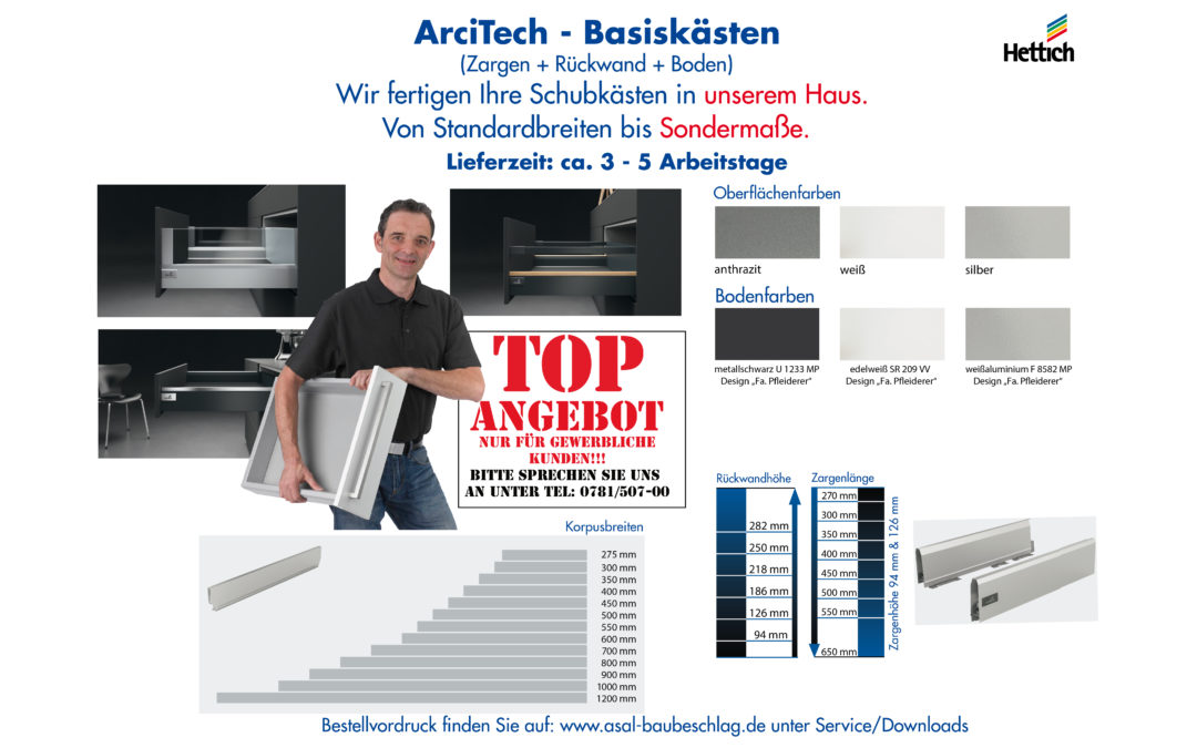 ArciTech – Basiskästen ANGEBOT