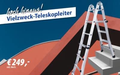 Vielzweck-Teleskopleiter