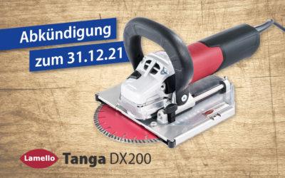 Tanga DX200 Abkündigung
